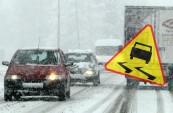 trudne warunki drogowe